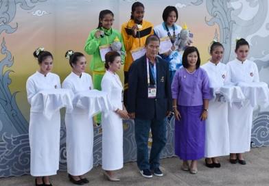 อุปนายกฯ เป็นผู้แทนสมาคมปัญจกีฬาแห่งประเทศไทย พร้อมคณะทำงาน เข้าร่วมการแข่งขันกีฬาแห่งชาติครั้งที่ 46