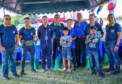 สมาคมปัญจกีฬาแห่งประเทศไทย จัดบูธประชาสัมพันธ์สมาคมกีฬาฯ ในงานแข่งขันไตรกีฬา