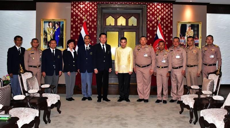 นายกสมาคมกีฬาปัญจกีฬาแห่งประเทศไทย นำคณะกรรมการบริหารสมาคมฯ เข้าพบ ผู้บัญชาการทหารเรือ