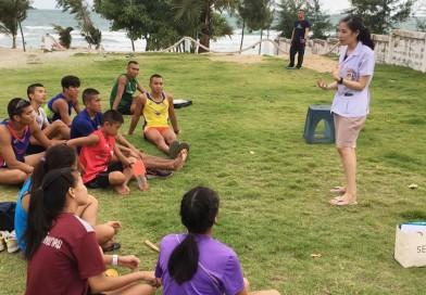 นักกีฬาปัญจกีฬา ฝึกซ้อม Laser Run และนักจิตวิทยามาให้ความรู้กับนักกีฬาฯ