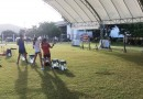 21 มิ.ย. 62 นักกีฬาปัญจกีฬา ฝึกซ้อม Laser Run ณ หาดน้ำใส