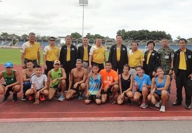 นายกสมาคมกีฬาปัญจกีฬาแห่งประเทศไทยพร้อมคณะฯ ร่วมประชุมหารือและติดตามความก้าวหน้าการเตรียมนักกีฬาตามโครงการฯ