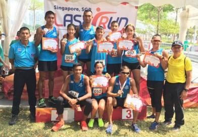 สมาคมกีฬาปัญจกีฬาแห่งประเทศไทย ส่งนักกีฬาเข้าร่วมแข่งขันรายการ UIPM Global Laser Run City Tour Singapore 2019