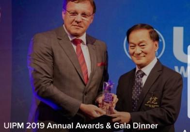 สมาคมกีฬาปัญจกีฬาแห่งประเทศไทยได้รับรางวัล Development Awards ประจำปี 2019 จากสหพันธ์ปัญจกีฬานานาชาติ (Union Intetnationale de Pentathlon Moderne-UIPM)