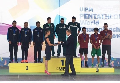 เหรียญเงินเหรียญที่สองของทีมนักกีฬาปัญจกีฬา ทีมชาติไทย