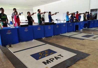 วันพุธที่ 2 ตุลาคม 2562 นักกีฬาปัญจกีฬา เก็บตัวฝึกซ้อมยิงปืนเลเซอร์ ณ สนามฟันดาบ สมาคมกีฬาปัญจกีฬาฯ ส่วนแยกสัตหีบ