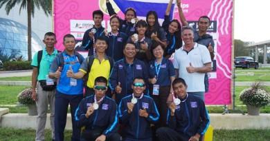นักกีฬาปัญจกีฬาทีมชาติไทยพิชิตเหรียญทองการแข่งขันกีฬาปัญจกีฬารายการ UIPM Biathle-Triathle World Championships ณ ประเทศสหรัฐอเมริกา