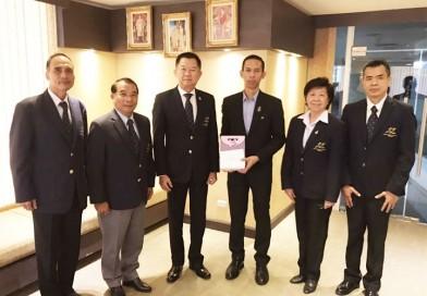 นายกสมาคมกีฬาปัญจกีฬาแห่งประเทศไทย พร้อมด้วยคณะกรรมการฯ เข้าพบผู้อำนวยการกององค์กรพัฒนากีฬาเป็นเลิศ อวยพรเนื่องในเทศกาลวันขึ้นปีใหม่ ปี 2563