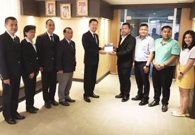 นายกสมาคมกีฬาปัญจกีฬาแห่งประเทศไทย พร้อมด้วยคณะกรรมการบริหาร เข้าพบนายกสมาคมกีฬาเรือพายแห่งประเทศไทย เพื่อขอบคุณและอวยพรเนื่องในเทศกาลวันขึ้นปีใหม่ ปี 2563
