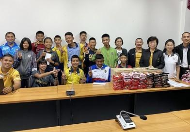 กรรมการบริหารสมาคมกีฬาปัญจกีฬาแห่งประเทศไทย เดินทางไปเยี่ยมนักกีฬาปัญจกีฬา